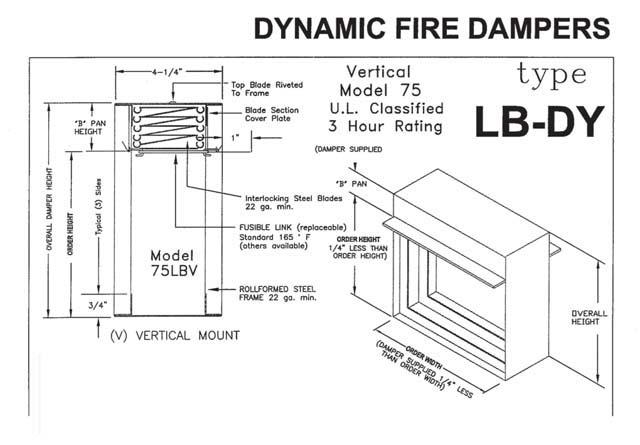 Webreps B2b Wholesale Hvac R Fire Damper 75lb 60x40