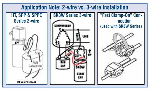 webreps b2b wholesale hvac r supco spp10e e series hard start kit rh webrepswholesale com Starter Relay Wiring Diagram Choosing a Supco Hard Start