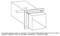 "10x10"" - Rapid Mounting Angles for Fire Dampers (4)"