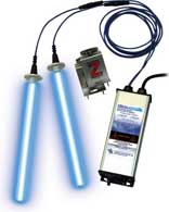 TUV-100D-I - Fresh-Aire UV,Air Handjer Mount Line Voltage Dual 1 Year Lamps